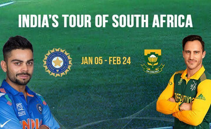 India tour of South Africa, 2017-18