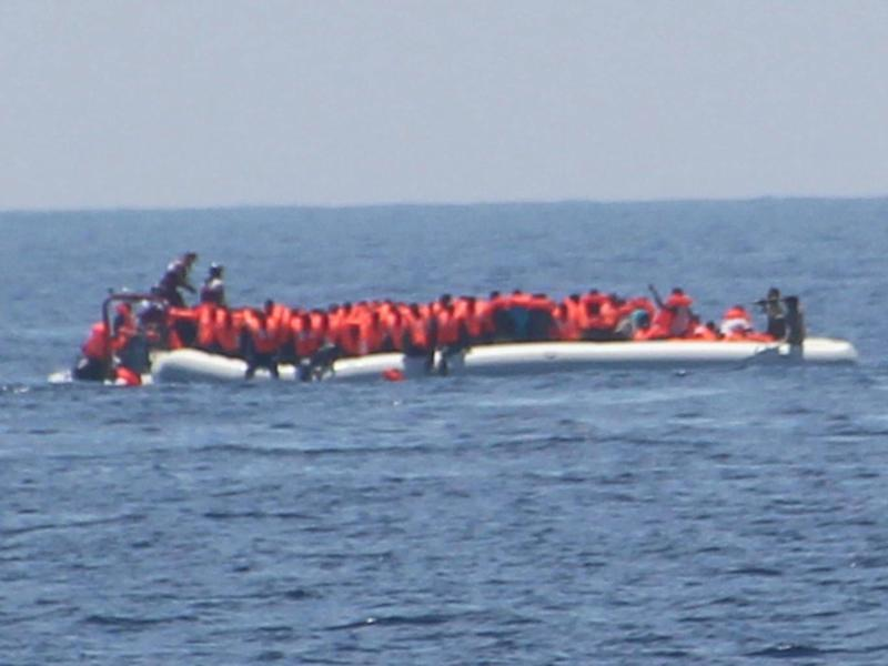 In May Libyan coastguard were accused of opening fire on a boat of refugees (Jugend Rettet)