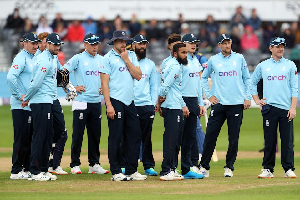 England in action against Sri Lanka on Sunday (AFP via Getty Images)