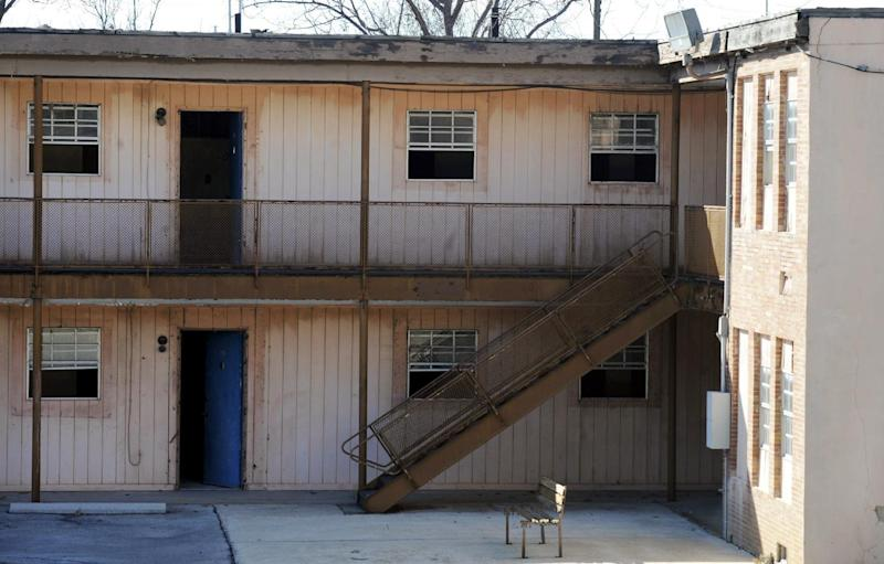 This Monday, Jan. 9, 2017, photo shows the upstairs suite once occupied by Martin Luther King Jr. at the abandoned A.G. Gaston Motel in Birmingham, Ala. The motel will be renovated as part of city's civil rights district joins the National Park Service under a proclamation signed by President Barack Obama on Thursday, Jan. 12. (AP Photo/Jay Reeves)
