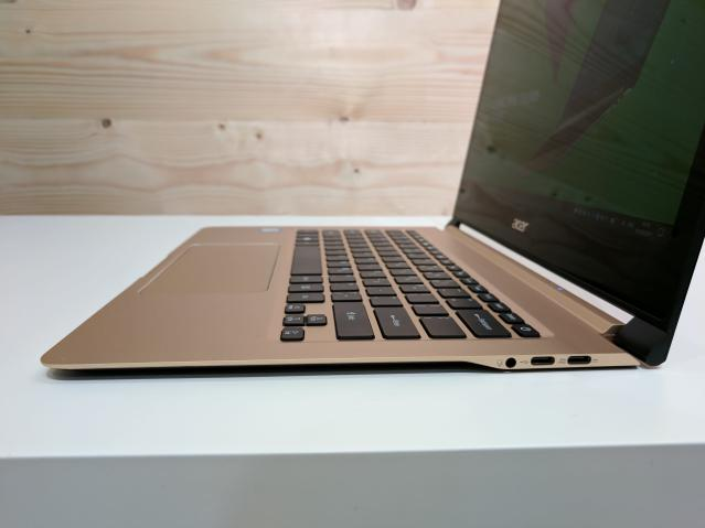 Acer's Swift 7 is incredibly thin, but has just two USB C ports and a headphone hack.