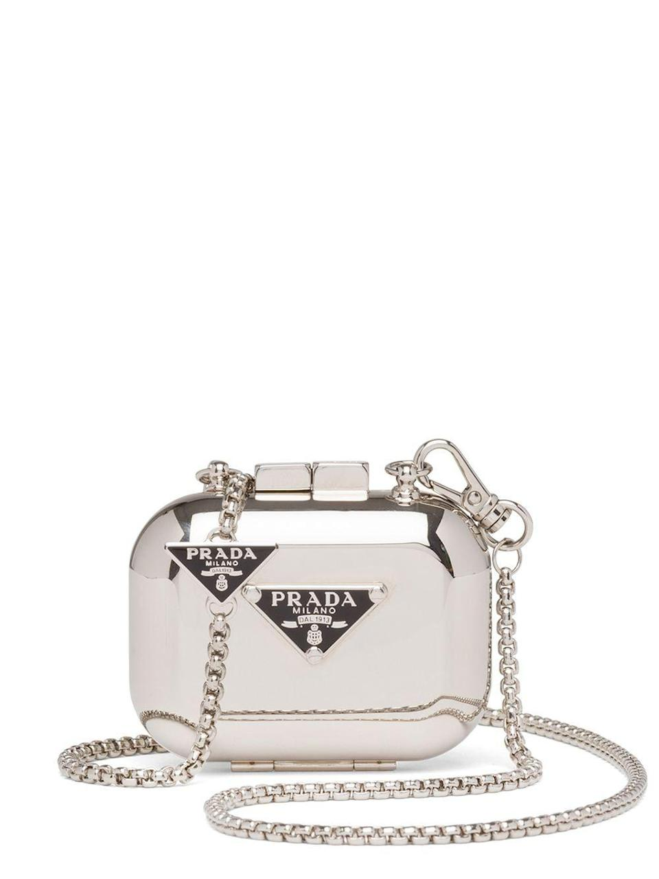 "<p><strong>Prada</strong></p><p>farfetch.com</p><p><strong>$1120.00</strong></p><p><a href=""https://go.redirectingat.com?id=74968X1596630&url=https%3A%2F%2Fwww.farfetch.com%2Fshopping%2Fwomen%2Fprada-aidpods-pro-case-item-16437333.aspx&sref=https%3A%2F%2Fwww.harpersbazaar.com%2Ffashion%2Ftrends%2Fg4475%2Ftech-gifts-for-women%2F"" rel=""nofollow noopener"" target=""_blank"" data-ylk=""slk:Shop Now"" class=""link rapid-noclick-resp"">Shop Now</a></p><p>The only thing more luxe than a new pair of AirPods is a new designer case to store them in. </p>"