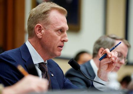 Acting U.S. Secretary of Defense Patrick Shanahan testifies to the House Armed Forces Committee on Capitol Hill in Washington, U.S., March 26, 2019.      REUTERS/Joshua Roberts