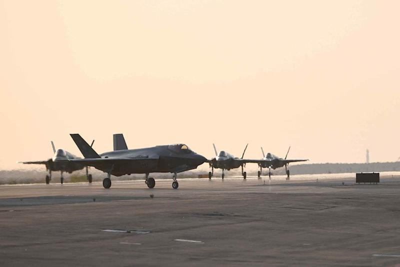 Air Force F-35s from Hill AFB Deploy to Middle East for 3rd Time in 12 Months