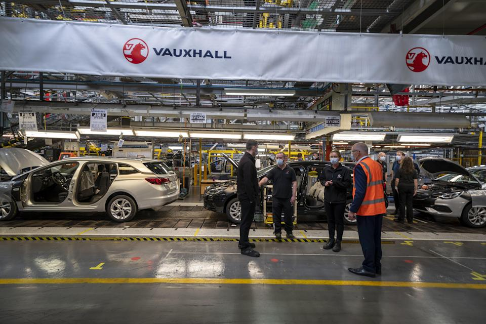 Vauxhall investment (PA Wire)