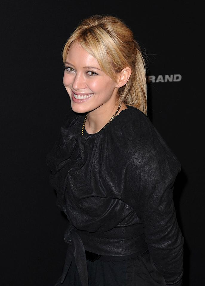 "<a href=""http://movies.yahoo.com/movie/contributor/1800316895"">Hilary Duff</a> at the 25th Annual Santa Barbara Film Festival on Feburary 6, 2010"