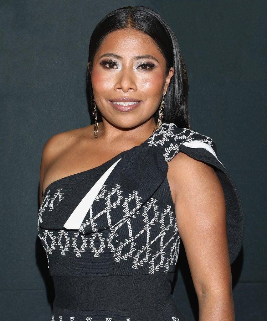 MEXICO CITY, MEXICO – OCTOBER 08: Yalitza Aparicio attends the black carpet of the GQ Men of the Year 2020 at Sofitel Mexico City on October 8, 2020 in Mexico City, Mexico. (Photo by Victor Chavez/Getty Images)
