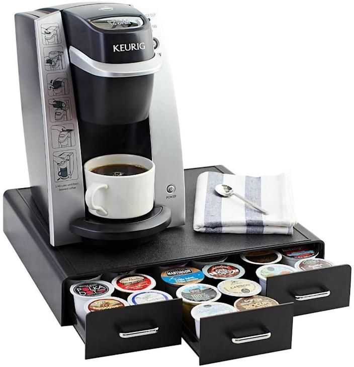 AmazonBasics Coffee Pod Storage Drawer. (Image via Amazon)