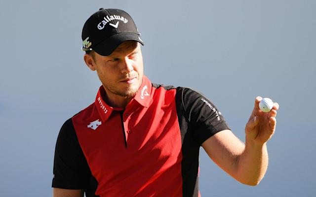 Danny Willett's confidence has been restored by his form over the last year and is tied for the lead at the BMW PGA Championship - Getty Images Europe