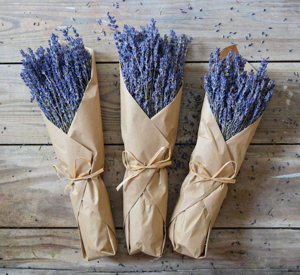 """<h2>Nustad Family Ranch Freshly Harvested Dried Lavender Bundle</h2><br>Bouquet of roses? Sorry, not for your alterna-mom — while she'll tell you that the classic floral arrangement is lovely, she's more into the foraged vibe. Gift her with an un-precious, heavenly-scented a bundle of dried lavender that's much more her speed.<br><br><em>Shop <strong><a href=""""https://www.amazon.com/s?k=Nustad+Family+Ranch&i=handmade&search-type=ss&ref=bl_dp_s_web_0"""" rel=""""nofollow noopener"""" target=""""_blank"""" data-ylk=""""slk:Nustad Family Ranch"""" class=""""link rapid-noclick-resp"""">Nustad Family Ranch</a></strong> on Amazon Handmade</em><br><br><strong>Nustad Family Ranch</strong> Freshly Harvested Dried Lavender Bundle, $, available at <a href=""""https://amzn.to/3alAxMG"""" rel=""""nofollow noopener"""" target=""""_blank"""" data-ylk=""""slk:Amazon"""" class=""""link rapid-noclick-resp"""">Amazon</a>"""