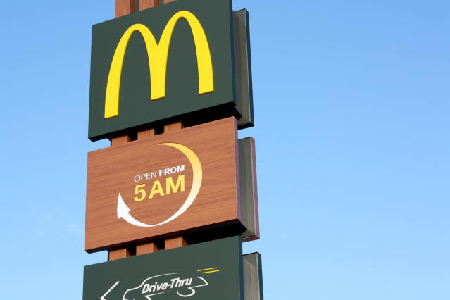 McDonald's is offering meat-free products as part of its new promotion drive. Photo: Getty