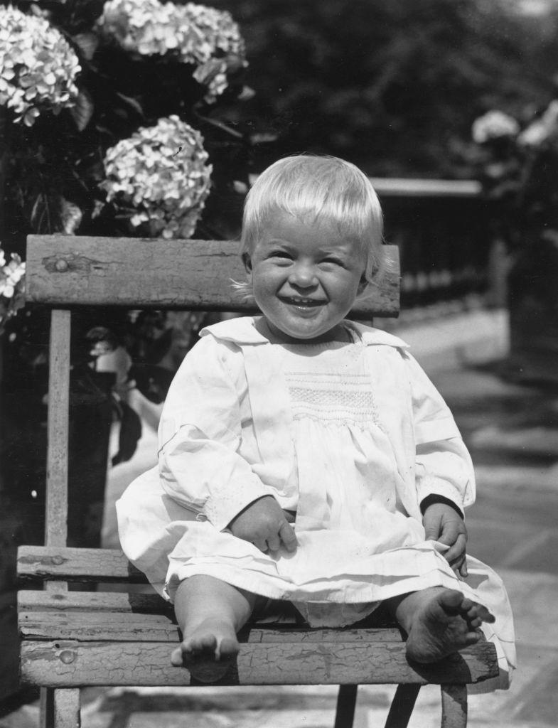 <p>A baby Prince Philip of Greece. </p>