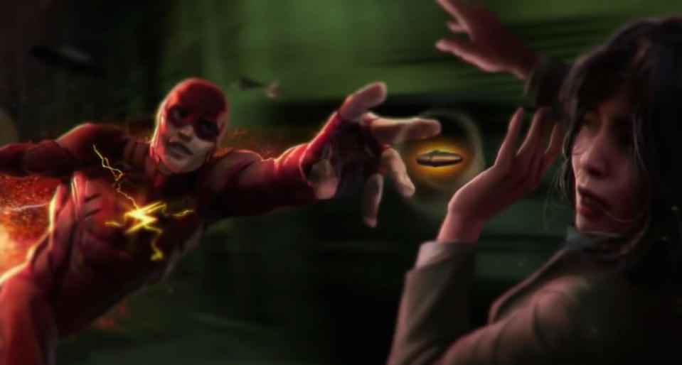 <p>After two briefs scenes in <i>BvS</i> (telling Batman to assemble the team and then stopping a holdup in security footage obtained by Lex Luthor) and a costarring role in <i>Justice League</i>, Ezra Miller's Scarlet Speedster gets his solo debut in this film. Presumably, we'll get a version of his origin combined with a standalone adventure pulling from his considerable comic-book rogues gallery.</p>