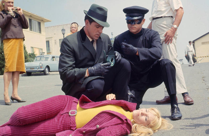 Van Williams and Bruce Lee in 'The Green Hornet' in 1996. (Photo by Walt Disney Television via Getty Images Photo Archives)