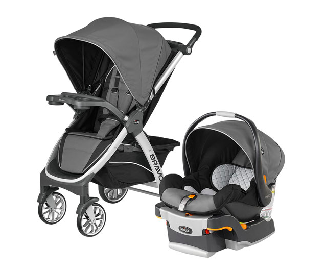 Chicco Bravo Standard Stroller with KeyFit 30 Infant Car Seat (Photo via Best Buy Canada)