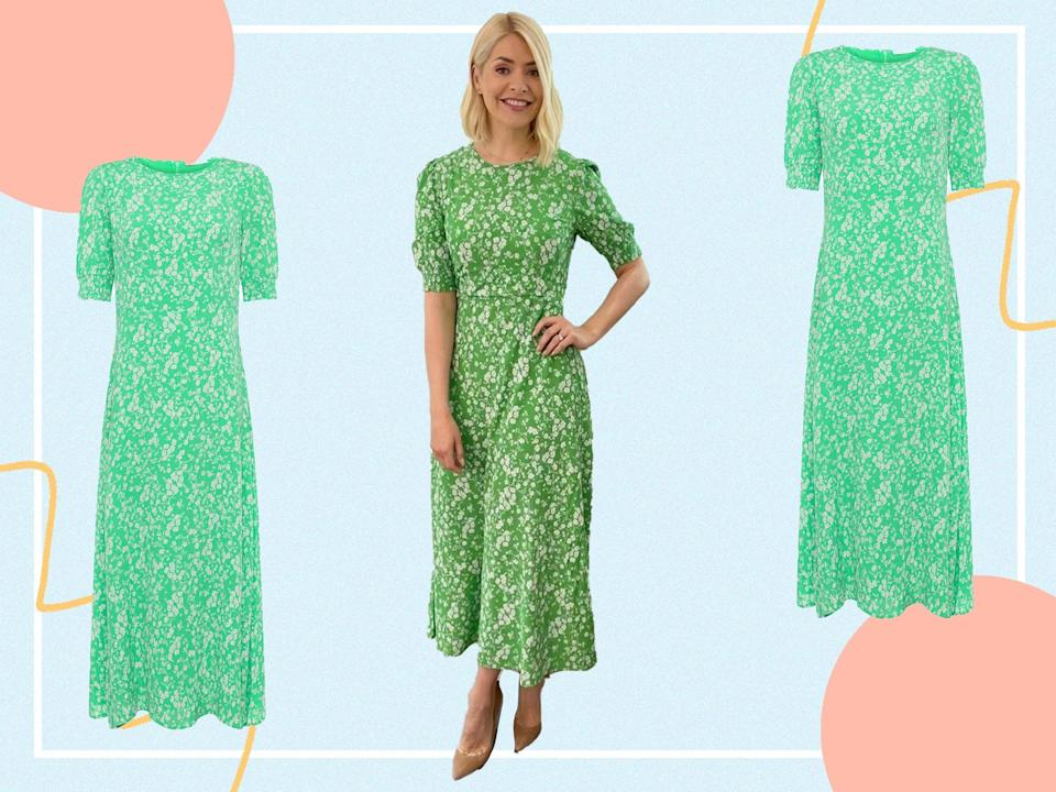 <p>This midi couldn't be more ideal for the summer months to come </p> (@hollywilloughby/The Independent)