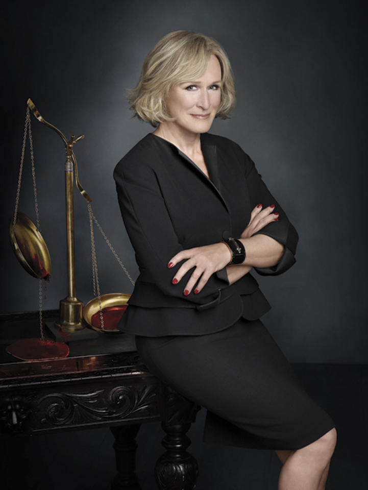"Outstanding Lead Actress in a Drama Series: Glenn Close, ""Damages"""