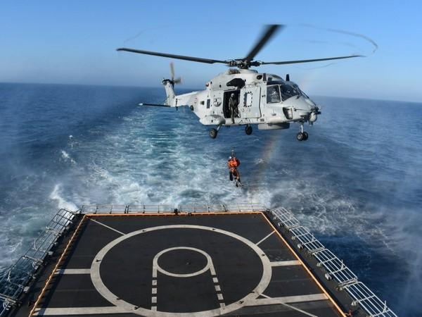 Indian Navy Ship Tabar completes Indo-France partnership exercise (Image credits: Indian Navy)