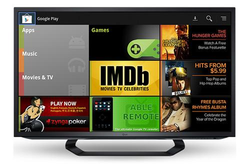 Google TV: Google Play Music, Movies and TV coming to Europe 13 November