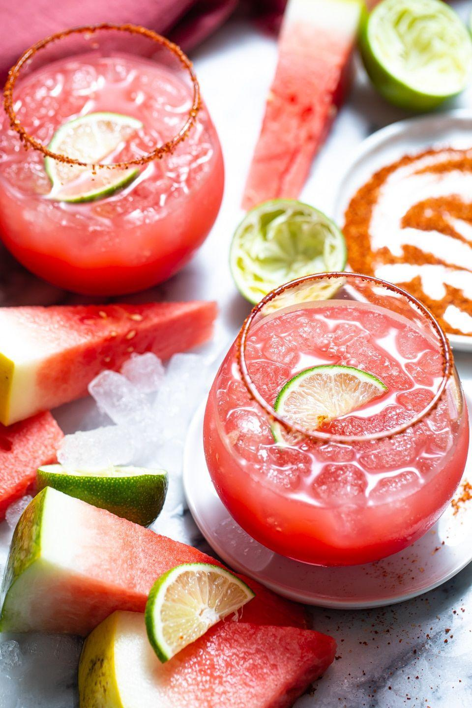 """<p>Here's another margarita recipe (because you can never have too many). This one is made with watermelon so it's super refreshing! </p><p><strong>Get the recipe at <a href=""""https://www.butterbeready.com/watermelon-margarita-recipe/"""" rel=""""nofollow noopener"""" target=""""_blank"""" data-ylk=""""slk:Butter Be Ready"""" class=""""link rapid-noclick-resp"""">Butter Be Ready</a>. </strong></p><p><a class=""""link rapid-noclick-resp"""" href=""""https://go.redirectingat.com?id=74968X1596630&url=https%3A%2F%2Fwww.walmart.com%2Fsearch%2F%3Fquery%3Dfood%2Bprocessor&sref=https%3A%2F%2Fwww.thepioneerwoman.com%2Ffood-cooking%2Fmeals-menus%2Fg36432840%2Ffourth-of-july-drinks%2F"""" rel=""""nofollow noopener"""" target=""""_blank"""" data-ylk=""""slk:SHOP FOOD PROCESSORS"""">SHOP FOOD PROCESSORS</a></p>"""