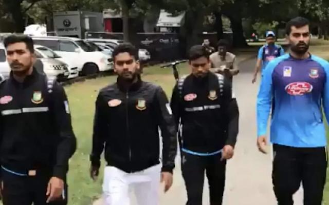 The Bangladesh cricket team were almost caught up in the attacks