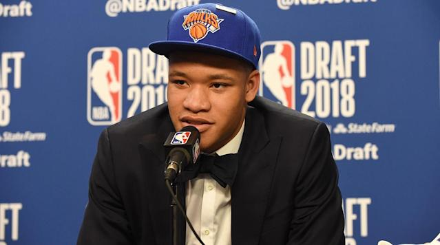 Kevin Knox draws his inspiration from players like Kevin Durant. Can he prove to be a pivotal piece for the Knicks going forward?