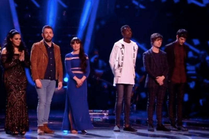 Finalists: Four contestants were named the finalists on Saturday night: ITV