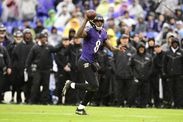 Lamar Jackson leads the Baltimore Ravens into a crucial AFC clash at the Los Angeles Chargers