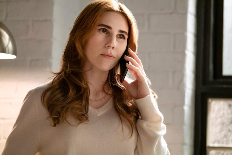 Zosia Mamet plays Annie Mouradian in HBO Max's 'The Flight Attendant.'
