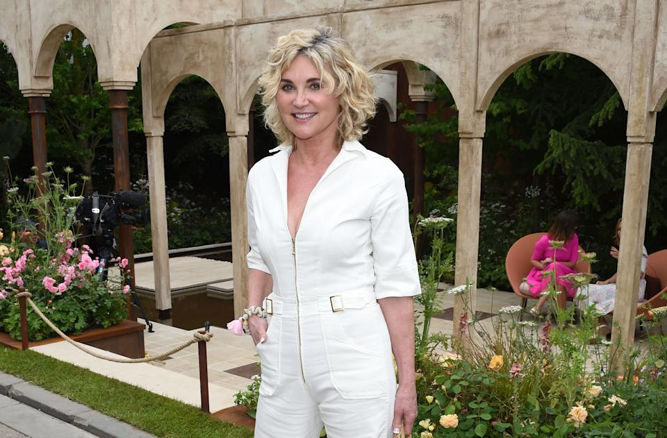 LONDON, ENGLAND - MAY 20:  Anthea Turner attends the RHS Chelsea Flower Show 2019 press day on May 20, 2019 in London, England.  (Photo by David M. Benett/Dave Benett/Getty Images)