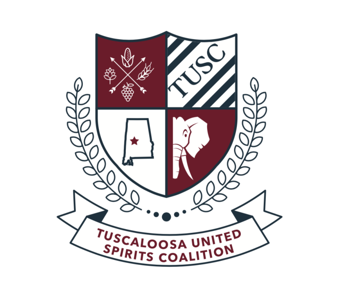 The logo for the Tuscaloosa United Spirits Coalition, introduced by Chad Smith, owner of Alcove International Tavern and co-owner of Loosa Brews. (Photo courtesy of Chad Smith)