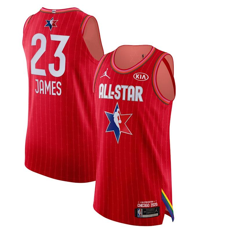 James Jordan Brand 2020 NBA All-Star Game Jersey