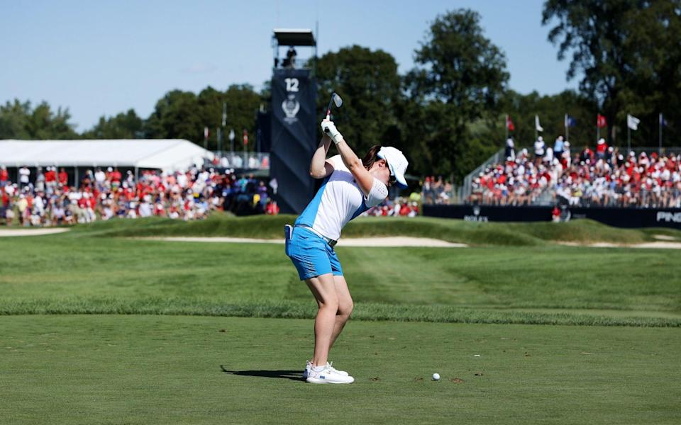 Leona Maguire has been in inspirational form this week - GETTY IMAGES