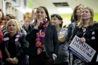 "<p><strong>Ho-Chunk</strong></p><p>Congressperson Sharice Davids has already <a href=""https://www.nbcnews.com/feature/nbc-out/sharice-davids-lesbian-native-american-makes-political-history-kansas-n933211"" rel=""nofollow noopener"" target=""_blank"" data-ylk=""slk:made plenty of history in her political career"" class=""link rapid-noclick-resp"">made plenty of history in her political career</a>. She's one of the first two Native American women to be elected to congress (alongside Deb Haaland), and is also the first LGBTQ person to be elected in Kansas.</p><p>Davids is <a href=""https://shariceforcongress.com/about/"" rel=""nofollow noopener"" target=""_blank"" data-ylk=""slk:part of the Ho-Chunk Nation"" class=""link rapid-noclick-resp"">part of the Ho-Chunk Nation</a>, which originated in Wisconsin, and she regularly works on projects to help the Indigenous population, including boosting economic growth and community development. </p><p><a href=""https://indiancountrytoday.com/news/rep-sharice-davids-reflects-on-her-first-100-days-in-congress-B8agleznl0GSsBTEw7TF7g"" rel=""nofollow noopener"" target=""_blank"" data-ylk=""slk:On a national level"" class=""link rapid-noclick-resp"">On a national level</a>, she's worked to protect and expand access to healthcare, strengthen voter protections, and worked to provide more resources to small business owners.</p>"