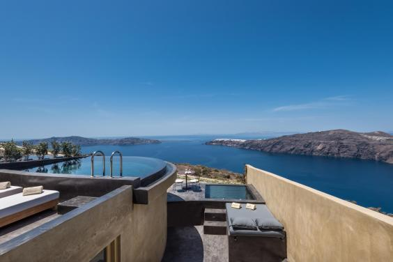 All rooms at Adronis Concept feature private terraces and pools (Adronis Concept)