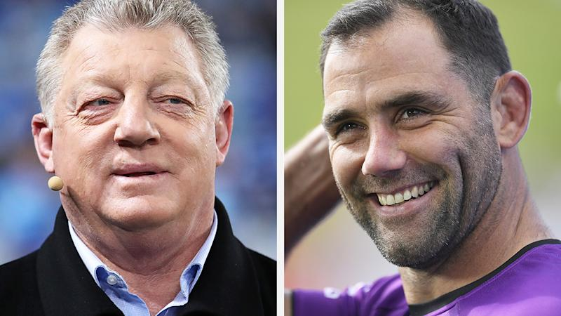 NRL great Phil Gould says dangerous tackle charges against Cameron Smith and Viliame Kikau are 'disgraceful' and questioned the effect they could have on the game if upheld. Pictures: Getty Images