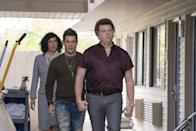 <em>The Righteous Gemstones</em> is the latest from the hilarious Danny McBride, of <em>Eastbound and Down</em> and <em>Vice Principals</em> fame. John Goodman plays the head of a (not-so-squeaky-clean) Gemstone televangelist family that runs a massive church and business. McBride, Adam Devine, and Edi Patterson play his three—very messy—children.