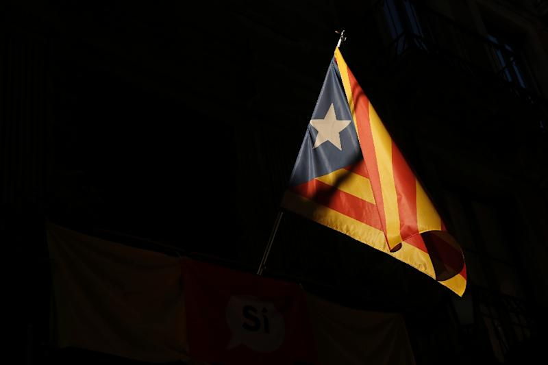 Tabarnia, a non-existant part of independence-minded Catalonia, is a word formed from Barcelona and Tarragona, the names of Catalonia's two main cities on the Mediterranean coast
