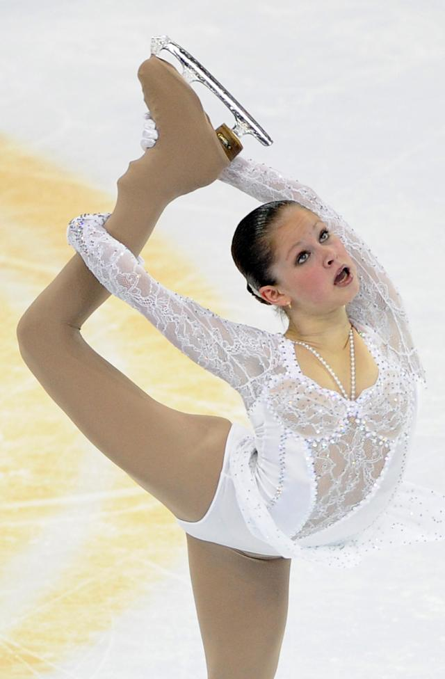 Julia Lipnitskaia of Russia performs her routine in the Ladies Free Skating program during the Cup of China, the third event on the ISU Grand Prix figure skating tour, in Shanghai on November 3, 2012. AFP PHOTO/Peter PARKSPETER PARKS/AFP/Getty Images