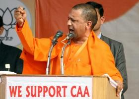 Opposition using women as shields, while men are relaxing under blanket: Yogi Adityanath on CAA protests