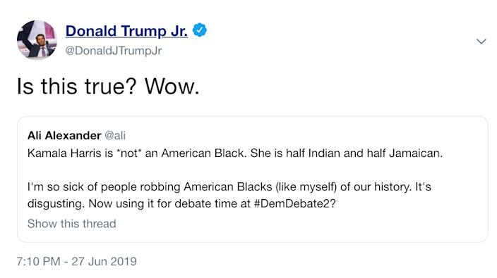 The since-deleted tweet.