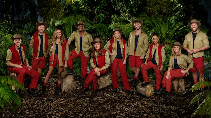 The 10 stars currently appearing in I'm A Celebrity (Photo: ITV)