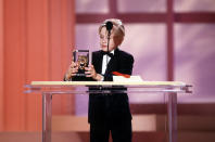Unspecified - 1991: Macaulay Culkin at the 5th Annual American Comedy Awards, April 3, 1991. (Photo by Craig Sjodin/Walt Disney Television via Getty Images)