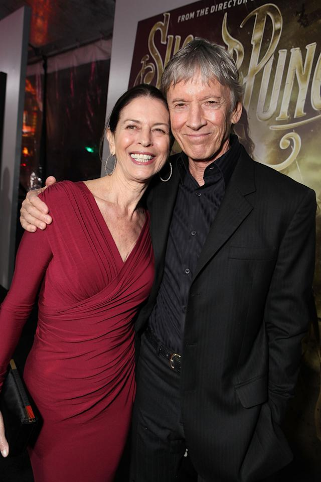 """<a href=""""http://movies.yahoo.com/movie/contributor/1808980333"""">Carol Schwartz</a> and <a href=""""http://movies.yahoo.com/movie/contributor/1800018269"""">Scott Glenn</a> at the Los Angeles premiere of <a href=""""http://movies.yahoo.com/movie/1810133258/info"""">Sucker Punch</a> on March 23, 2011."""
