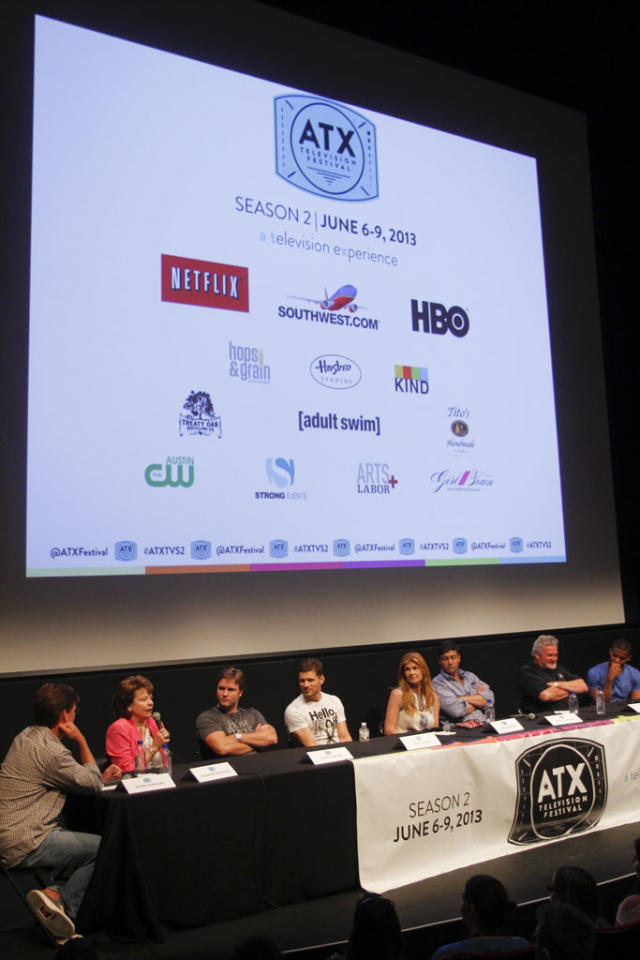 "The ""Friday Night Lights"" Panel at the ATX Television Festival on Saturday, June 8, 2013 in Austin, Texas."