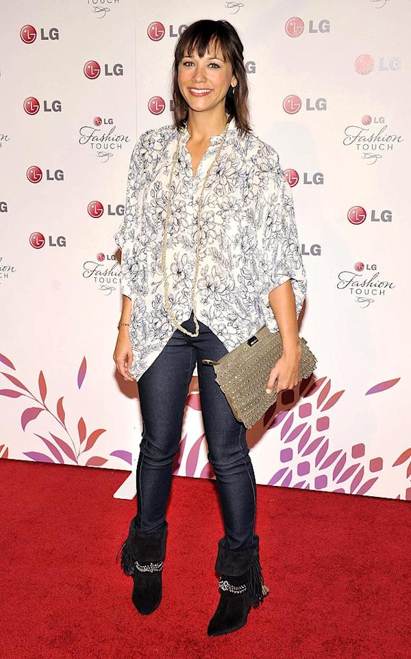 "Looks like ""Parks and Recreation"" comedienne Rashida Jones didn't get the memo that this was a high fashion event, turning up in jeans and a dressed-down floral shirt. Toby Canham/<a href=""http://www.gettyimages.com/"" target=""new"">GettyImages.com</a> - May 24, 2010"