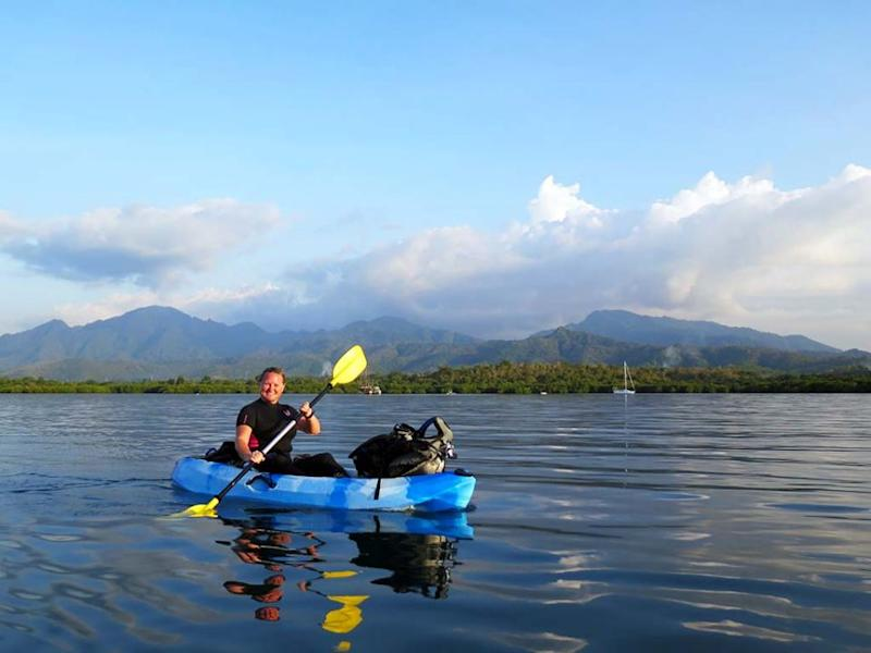 You can go hiking, canoeing and stand-up paddle boarding at the Menjangan Dynasty Resort. Source: Deborah Dickson-Smith