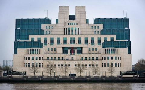 The headquarters of MI6, the Secret Intelligence Service, in Vauxhall, London - Credit: Tim Ireland/PA Wire