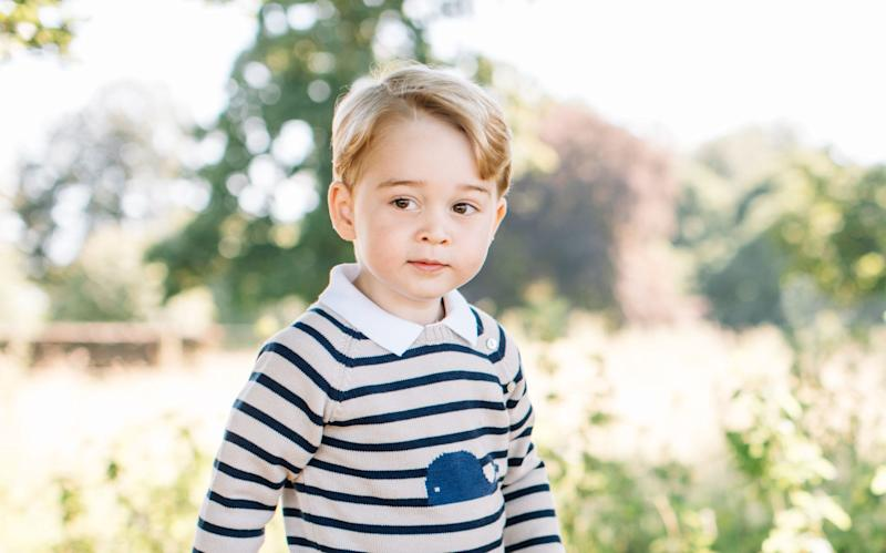 Prince George is to join Thomas's School, Battersea, in September