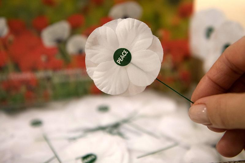 White poppies continue to spark controversy: PA Archive/PA Images